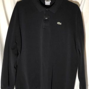 Lacoste brand Polo shirt Long-sleeve: Men's